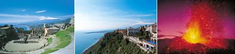 Taormina, Etna